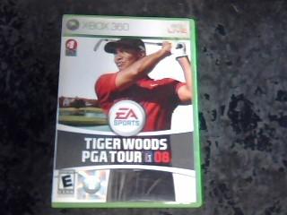 MICROSOFT Microsoft XBOX 360 TIGER WOODS PGA TOUR 08