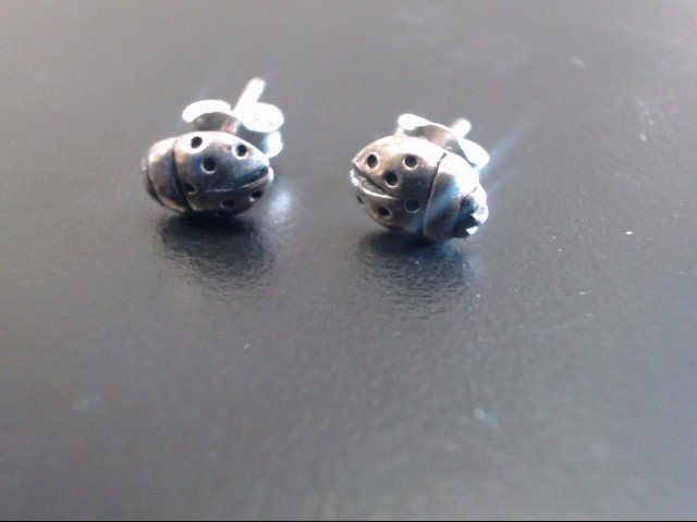 Silver Earrings 925 Silver 1.17g