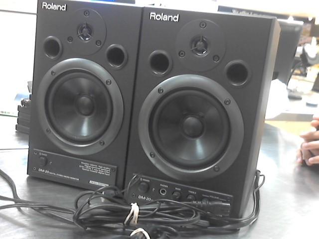 ROLAND Speakers/Subwoofer DM-20