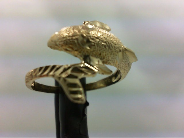 Lady's Gold Ring 14K Yellow Gold 2.8g