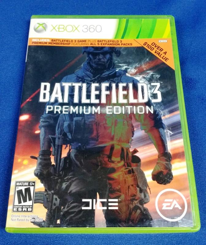 XBOX 360 BATTLEFIELD 3 PREMIUM EDITION
