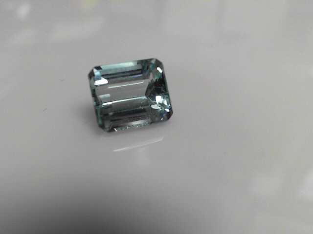 6.48cts Aquamarine Emerald Cut Stone