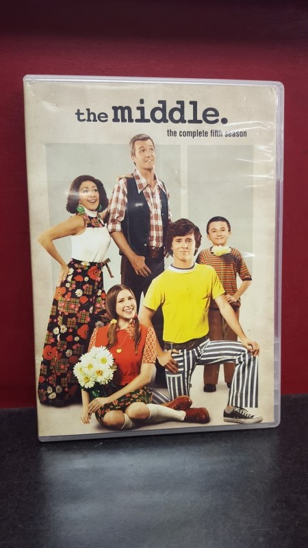 DVD THE MIDDLE THE COMPLETE FIFTH SEASON