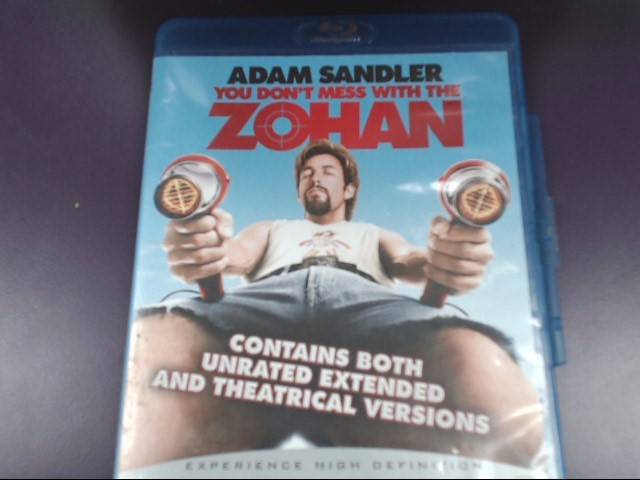 YOU DON'T MESS W/ THE ZOHAN (2008) STARRING ADAM SANDLER