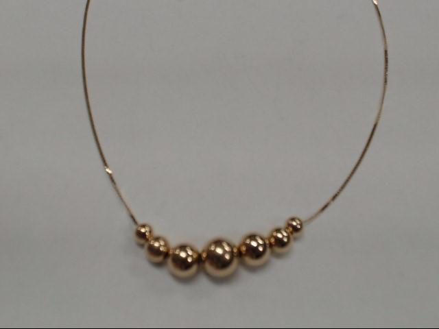 "18"" Gold Fashion Chain 14K Yellow Gold 1.43g"