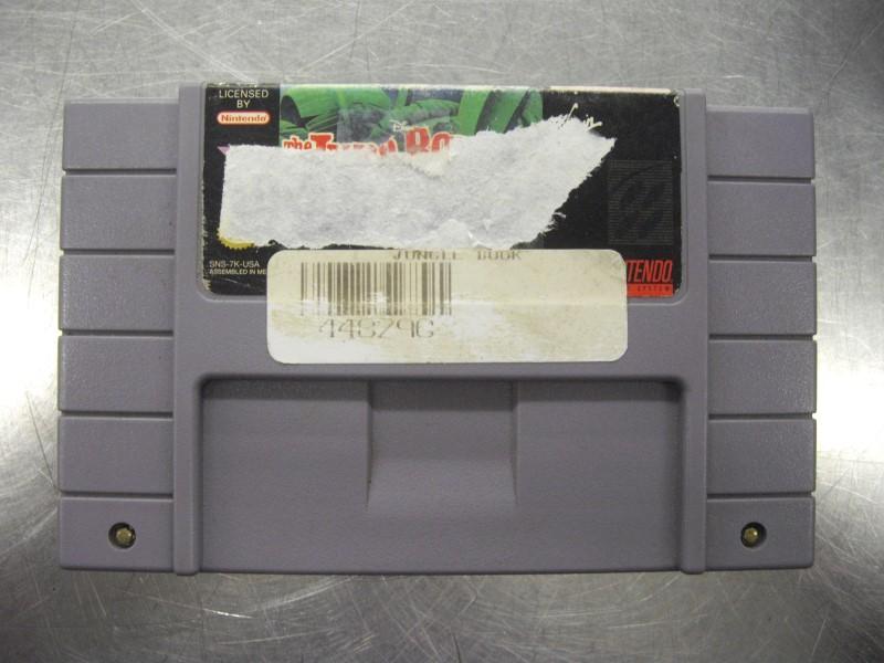 NINTENDO Nintendo SNES THE JUNGLE BOOK