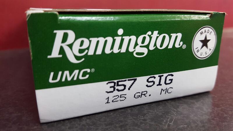 REMINGTON Ammunition L357S1 357 Sig