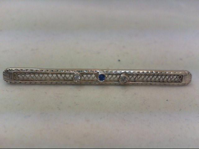 Silver Brooch 925 Silver 3.2g