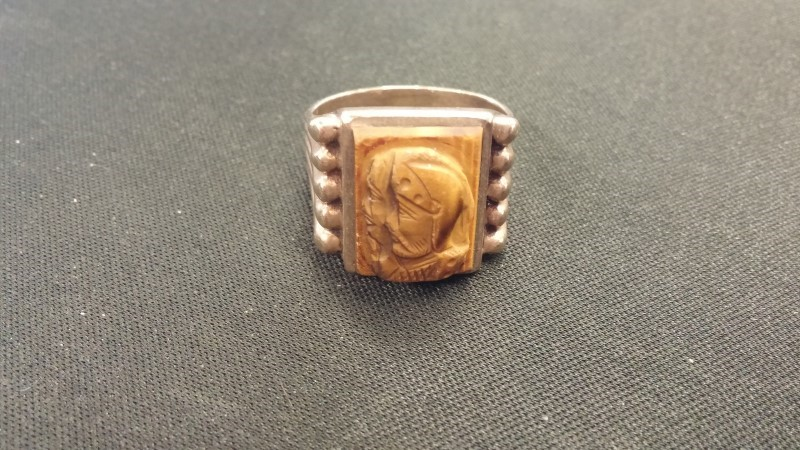 Gent's Gold Ring 10K Yellow Gold 5.7dwt Size:12