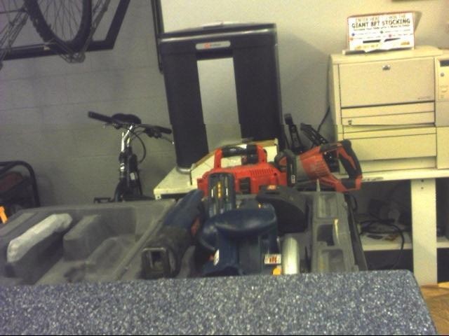 RYOBI Combination Tool Set CORDLESS COMBO SET