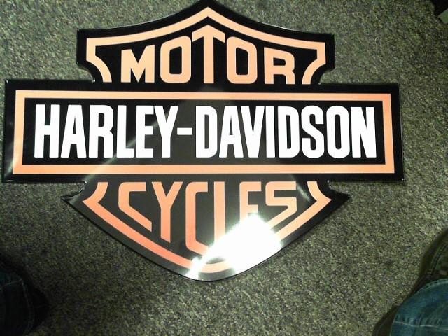 HARLEY DAVIDSON 20 x 28 PLEXIGLASS LOGO SIGN