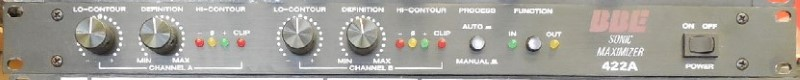 BBE SOUND Electric Guitar Amp SONIC MAXIMIZER