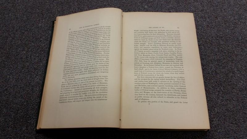 1876 Stonewall Jackson: A Military Biography, D. Appleton & Company, Book