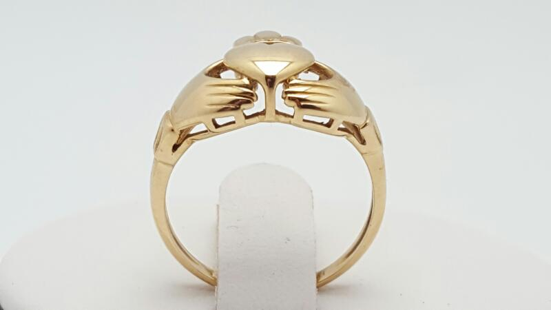 Lady's Gold Ring 10K Yellow Gold 2.8g Size:6