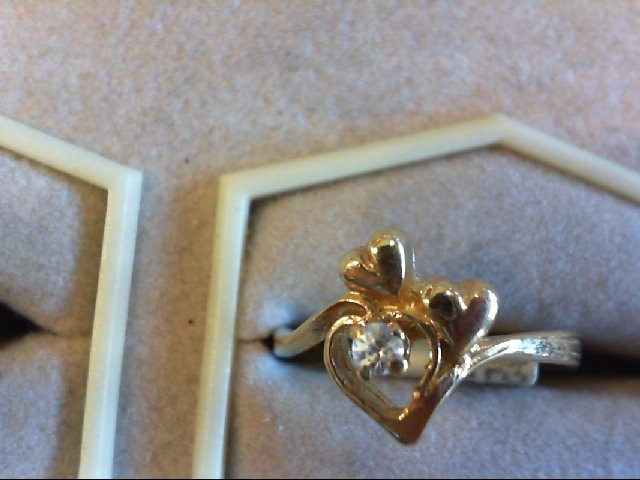 Lady's Gold Ring 14K Yellow Gold 2.1g