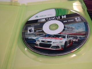 MICROSOFT Microsoft XBOX 360 Game NASCAR 2014 X BOX 360