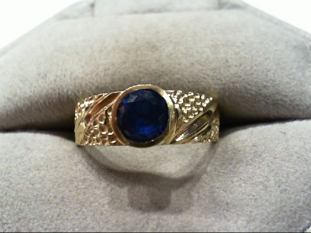 Lady's Gold Ring 14K Yellow Gold 3.4g