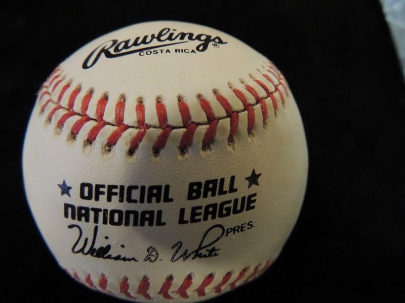 Reggie Jackson Signed/Autographed Rawlings MLB Official National League Baseball