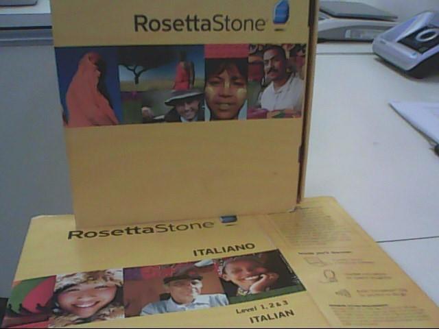 ROSETTA STONE Computer Accessories ITALIANO LEVEL 1-3
