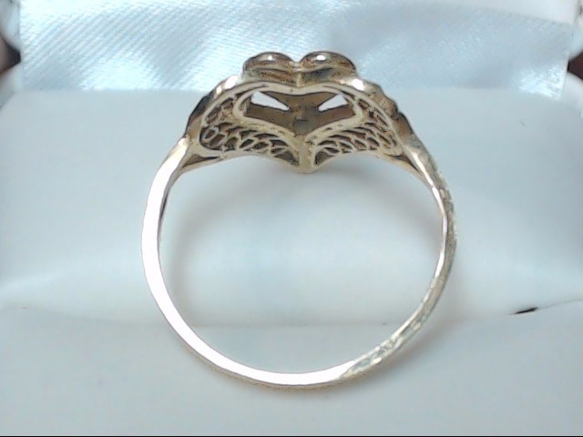 Lady's Gold Ring 14K Yellow Gold 2.5g Size:6.5