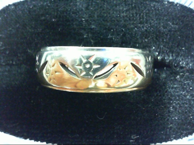 Gent's Gold Ring 14K Yellow Gold 7g Size:9