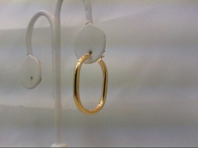 Gold Earrings 18K Yellow Gold 3.09g