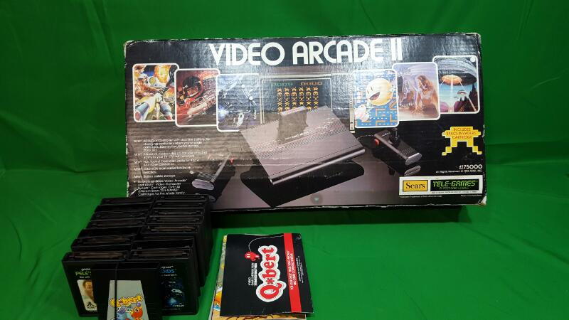 SEARS Game Console VIDEO ARCADE II