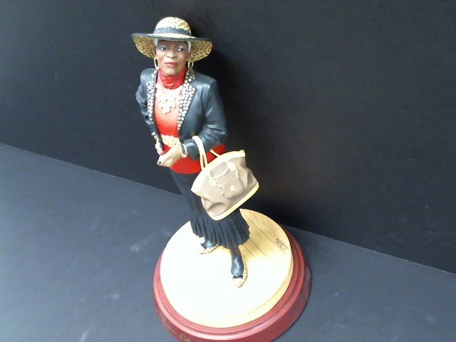 THOMAS BLACKSHEARS Collectible Plate/Figurine GO ON WITH YOUR BAD SELF