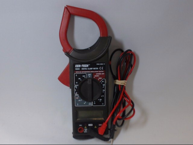 Cen Tech Clamp Meter : Centech multimeter good buya