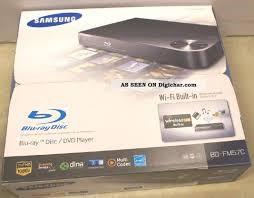 SAMSUNG BLU RAY PLUS 6 MOVIES DVD Player BD-FM57C/ZA