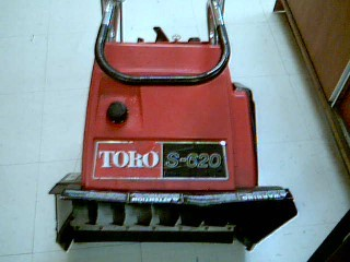 TORO SNOWBLOWER S-620 38165