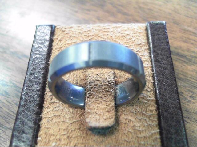 Gent's Ring Black Tungsten 8.8dwt