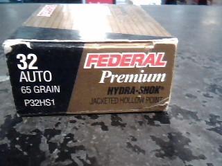 FEDERAL AMMUNITION Ammunition P32HS1