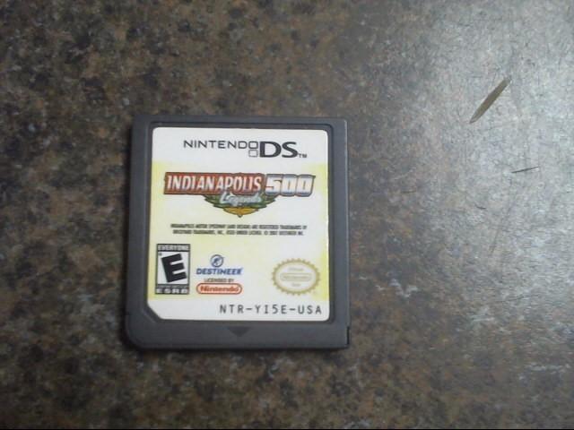 NINTENDO Nintendo DS Game INDIANAPOLIS 500 LEGENDS