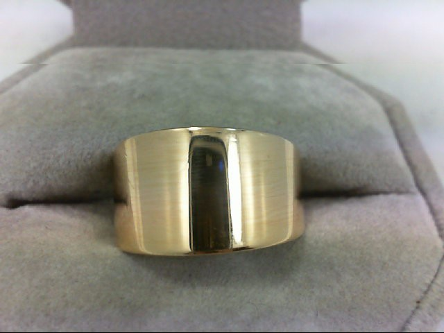 Lady's Gold Ring 14K Yellow Gold 8.3g Size:7