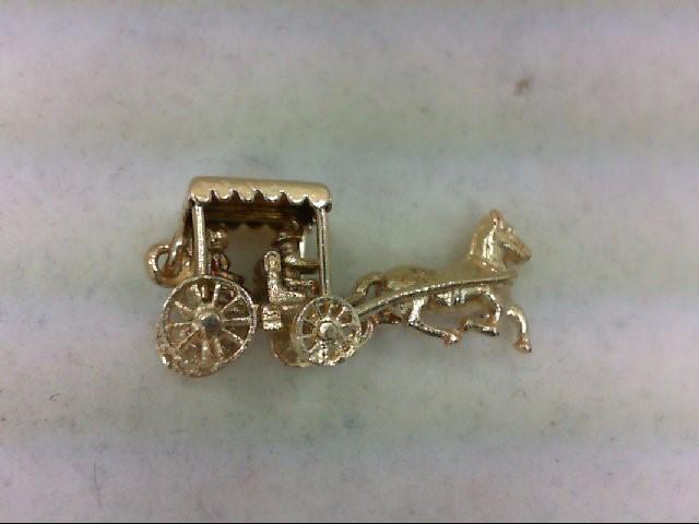 Gold Charm 14K Yellow Gold 3.8g