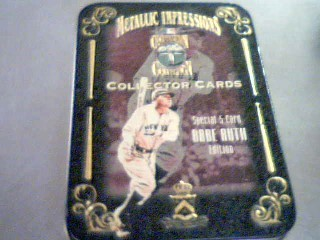 BABE RUTH EDITION CARDS
