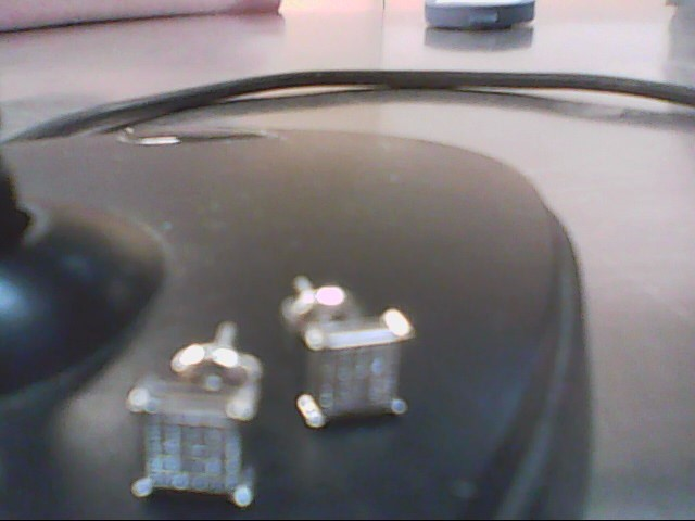 Gold-Diamond Earrings 32 Diamonds .160 Carat T.W. 10K White Gold 1.1g