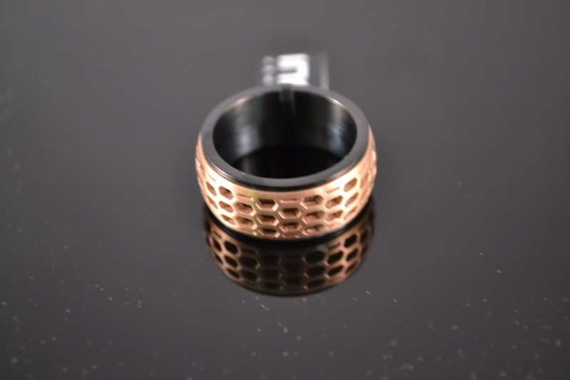 Gent's Ring Black Stainless 10.5g
