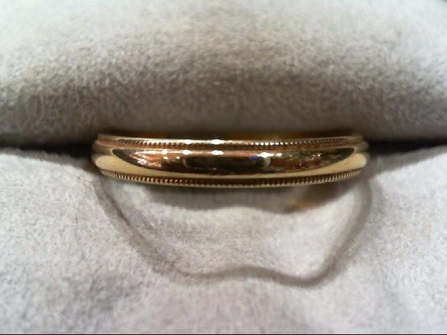 Lady's Gold Wedding Band 14K Yellow Gold 2g Size:8.5