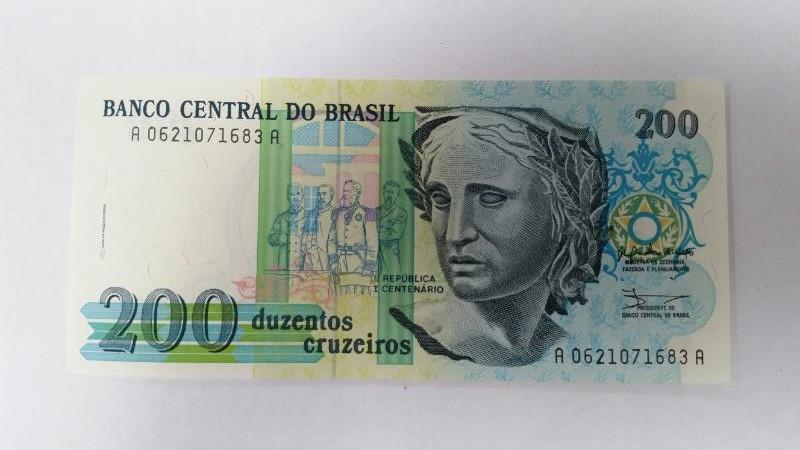 CENTRAL DO BRASIL Paper Money - World 200 DUZENTOS CRUZEIROS