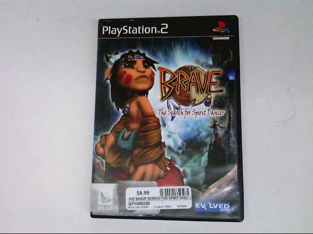 SONY PS2 BRAVE THE SEARCH FOR SPIRIT DANCER