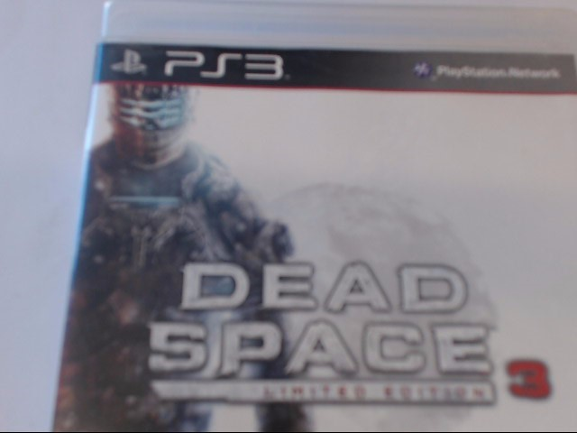 SONY PS3 DEAD SPACE 3
