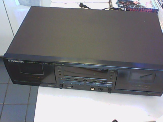PIONEER ELECTRONICS Tape Player/Recorder CT-W603RS