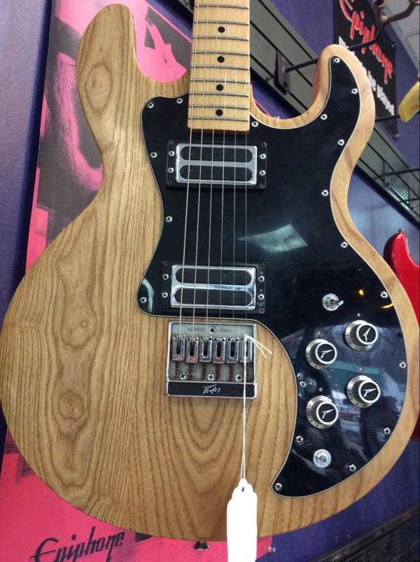 Peavey T-60 Natural Maple Board 6 String Electric Guitar 1980