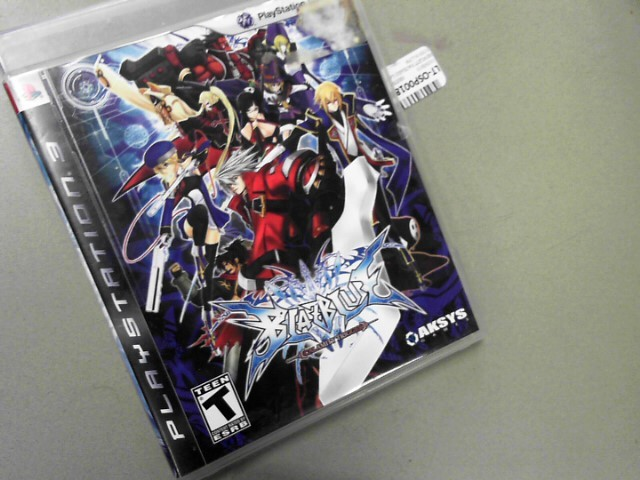 BLAZBLUE Sony PlayStation 3 CALAMITY TRIGGER