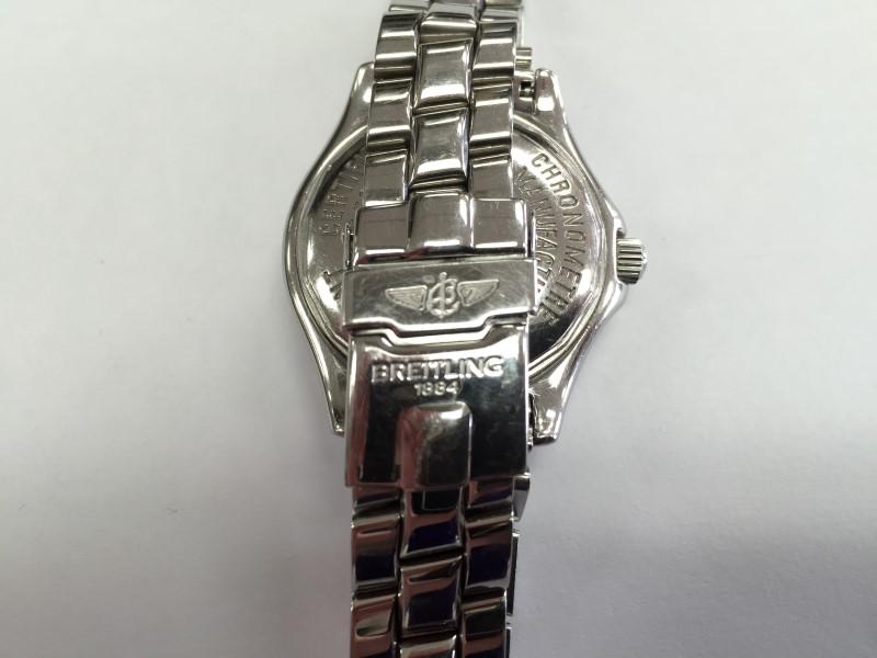 Breitling A77350 Colt Oceane Ladies Diamond Watch