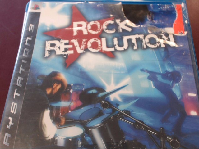 SONY PS3 ROCK REVOLUTION
