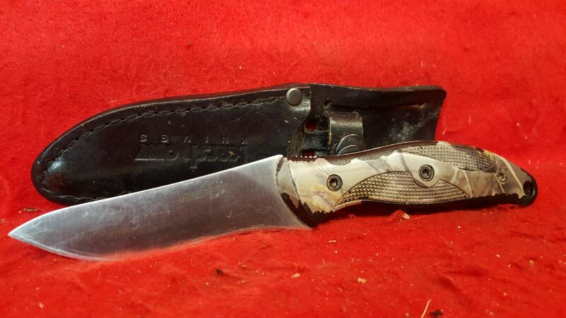KERSHAW Hunting Knife 1070 ECHO AUS8A