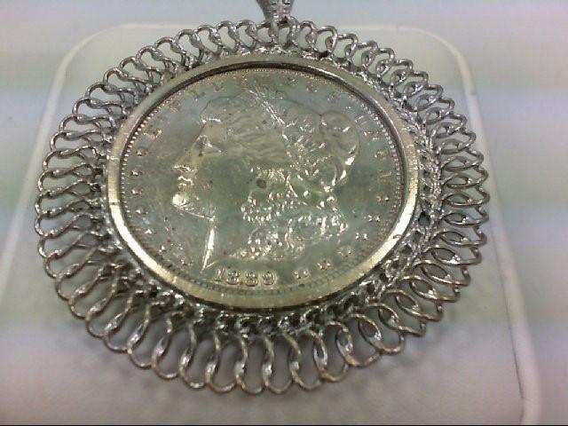 1889 MORGAN DOLLAR PENDANT
